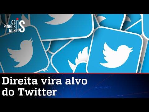Twitter avança contra seguidores de perfis conservadores