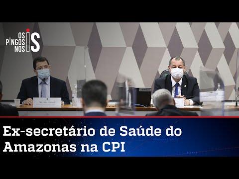Após 1 mês e meio, CPI tem primeiro depoimento sobre roubalheira dos governadores na pandemia