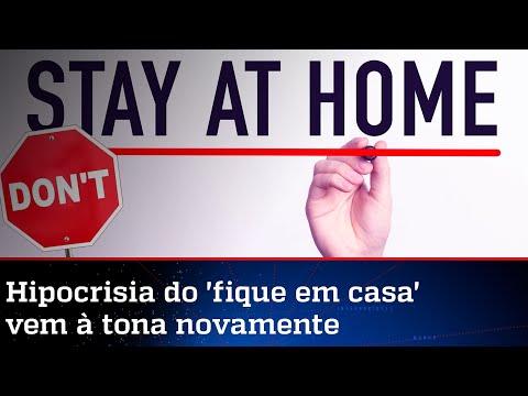 Esquerda larga o 'fique em casa' e voltará às ruas contra Bolsonaro