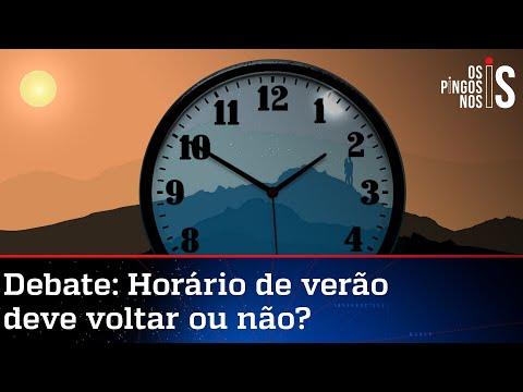 Exclusivo: Bolsonaro descarta volta do horário de verão