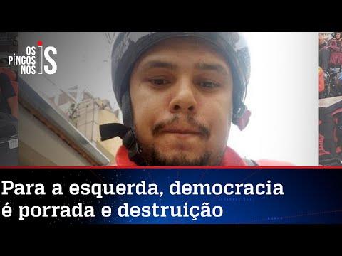 """Vândalo que queimou o Borba Gato diz que queria """"abrir debate"""""""
