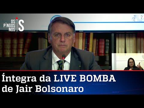 Íntegra da LIVE BOMBA de Jair Bolsonaro de 29/07/21