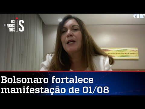 Bia Kicis: Brasil irá às ruas em 1º de agosto pelo voto auditável