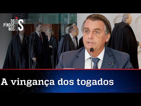 Após live, ministros de STF e TSE armam ofensiva contra Bolsonaro