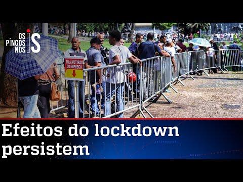 Trancamento ordenado por governadores ainda gera desemprego