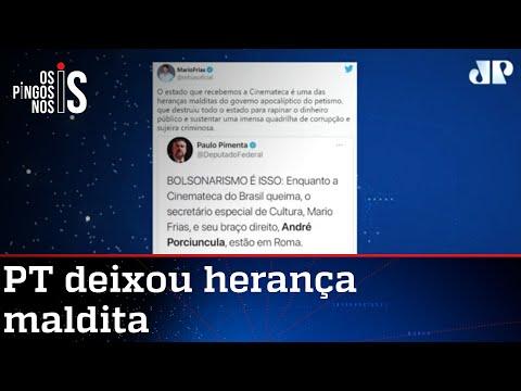 Petista toma corte de Mario Frias sobre a Cinemateca