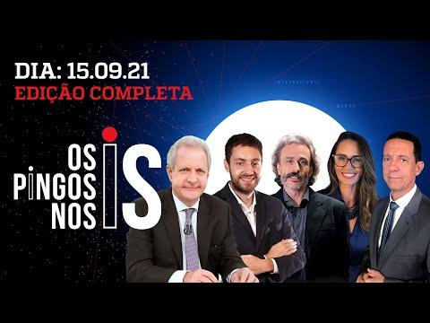 BARROSO NA RÚSSIA/ ALCOLUMBRE ENQUADRADO/ ENTREVISTA: PAULO GUEDES – Os Pingos Nos Is – 15/09/21