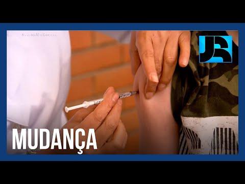 Ministério da Saúde orienta interrupção da vacinação de adolescentes sem comorbidades