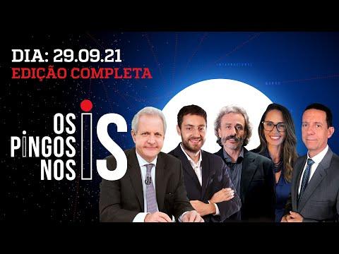 HANG DESMONTA CPI/ ENTREVISTA: FLÁVIO BOLSONARO/ 4 MILHÕES DE INSCRITOS – Os Pingos Nos Is 29/09/21