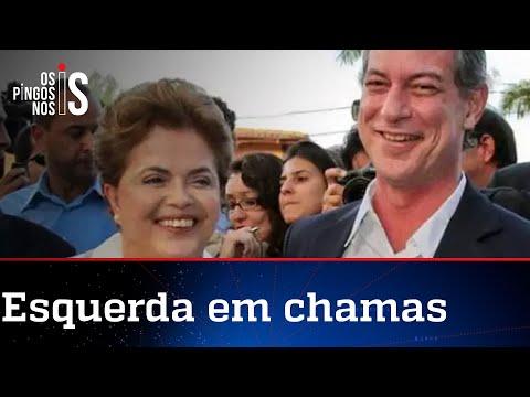 Ciro e Dilma Rousseff trocam farpas nas redes sociais