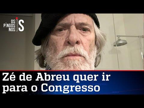 José de Abreu vai abandonar carreira para ser candidato a deputado pelo PT