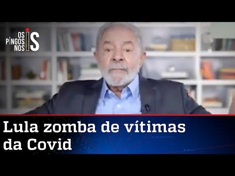 Lula diz que Covid pode ter afetado cérebro de Ciro