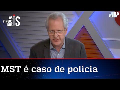 Augusto Nunes: MST e MTST são movimentos terroristas