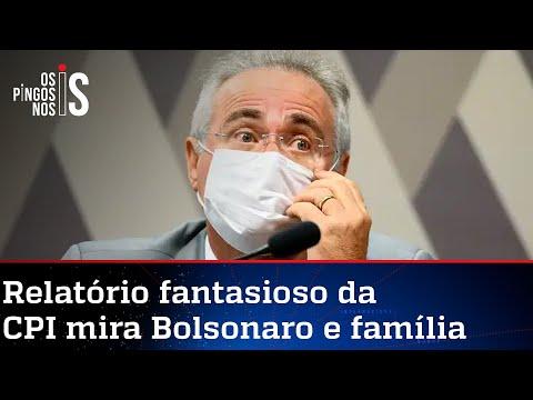 Peça de ficção elaborada por Renan na CPI pedirá indiciamento de Bolsonaro, Queiroga e Onyx