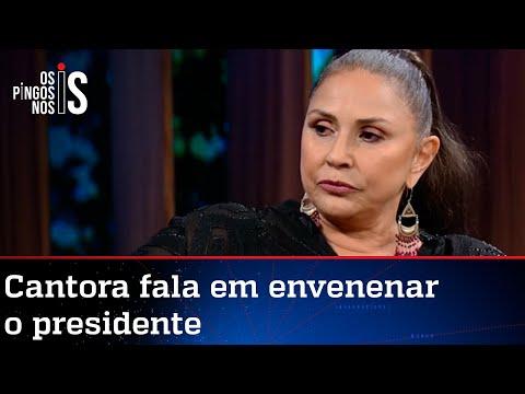 Fafá de Belém promete prato venenoso a Jair Bolsonaro