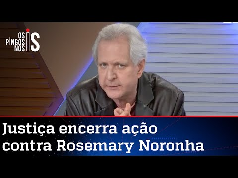 Augusto Nunes: Impunidade de Lula chega até Rosemary Noronha