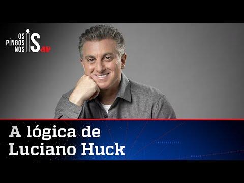 """Luciano Huck banca o economista e diz que o """"fique em casa"""" não causou inflação"""