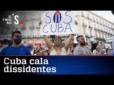 Cuba condena manifestante que participou de atos contra a ditadura