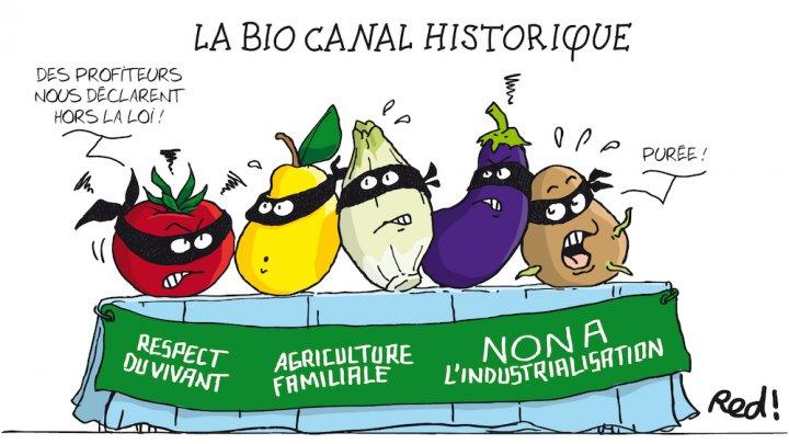 """L'agro-industrie veut confisquer le mot «<small class=""""fine""""></small>bio<small class=""""fine""""></small>»"""