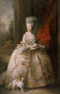Rainha Charlotte (1761-1818), c. 1781
