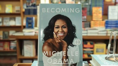 "Photo of ""Becoming"" by Michelle Obama"
