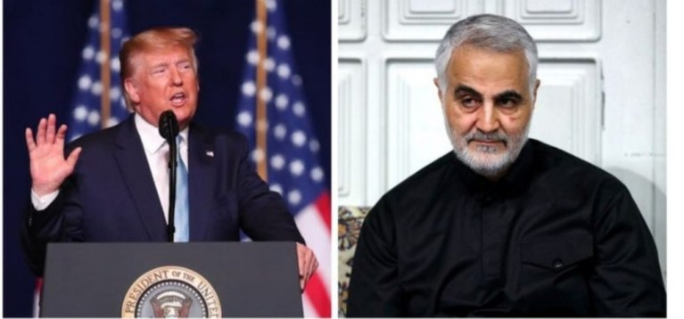 Soleimoni Killings: Iran orders immediate arrests of Trumps