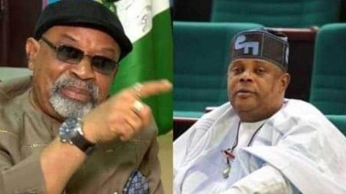 You are same level with your Mentor - Ngige tackles Falekeduring Probe