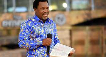 """""""If Biafrans stand on their own, they will only suffer one thing"""" – Prophet TB Joshua"""