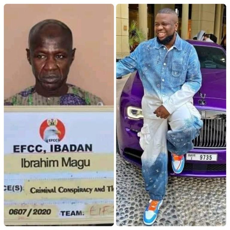 EFCC Boss, Ibrahim Magu arrests linked to Hushpuppi criminal saga