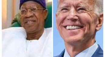 We will support Joe Biden with $600M as a pay back to Trump who supported IPOB – Lie Mohammed