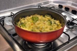Paste cu branza si legume la cuptor
