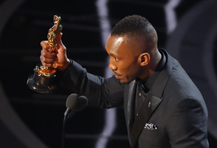 89th Academy Awards - Oscars Awards Show - Best Supporting Actor winner Mahershala Ali. REUTERS/Lucy Nicholson