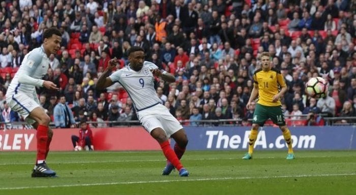 Jermain Defoe scores in first England appearance in four years