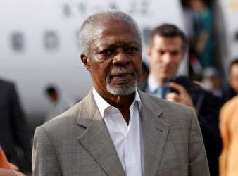 Kofi Annan has died aged 80 (Image: GETTY)