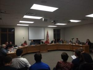Kent City Council discusses Wednesday's agenda.