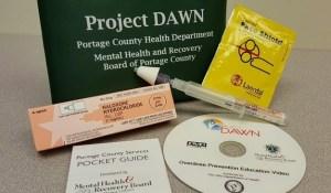 Project Dawn's naloxone kit.