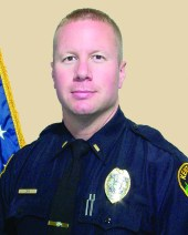 Headshot of Administrative Lieutenant Michael Lewis from the Kent City Police Department