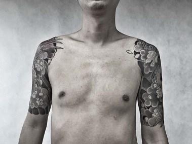 Tätowierung von Dong Dong, Mummy Tattoo, Beijing
