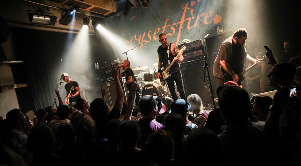 Boysetsfire beim Family First Pre Fest