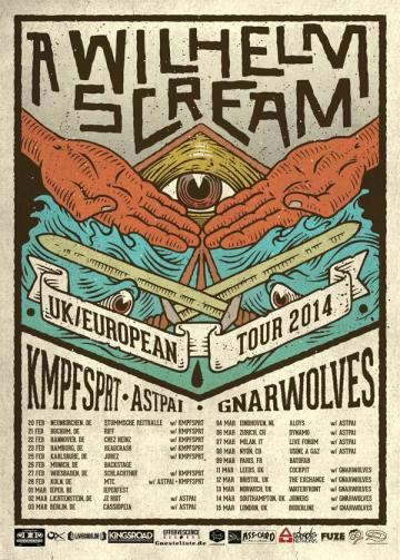 A Wilhelm Scream European Tour 2014