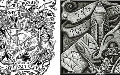 Reportink on tour: Spiekerooger Tatto-Treff & Frankfurt Tattoo Convention