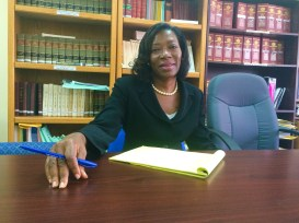Victoria Charles Clarke, the Director of Public Prosecutions for St. Lucia.