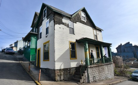 Sarah LaPonte moved to Braddock, a borough of Pittsburgh, from Portland. She bought this house for $700.