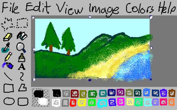 GitHub - 1j01/jspaint: 🎨 Classic MS Paint, REVIVED + Extras