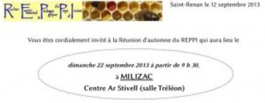 Invitation à la réunion d'automne le 14 septembre 2013
