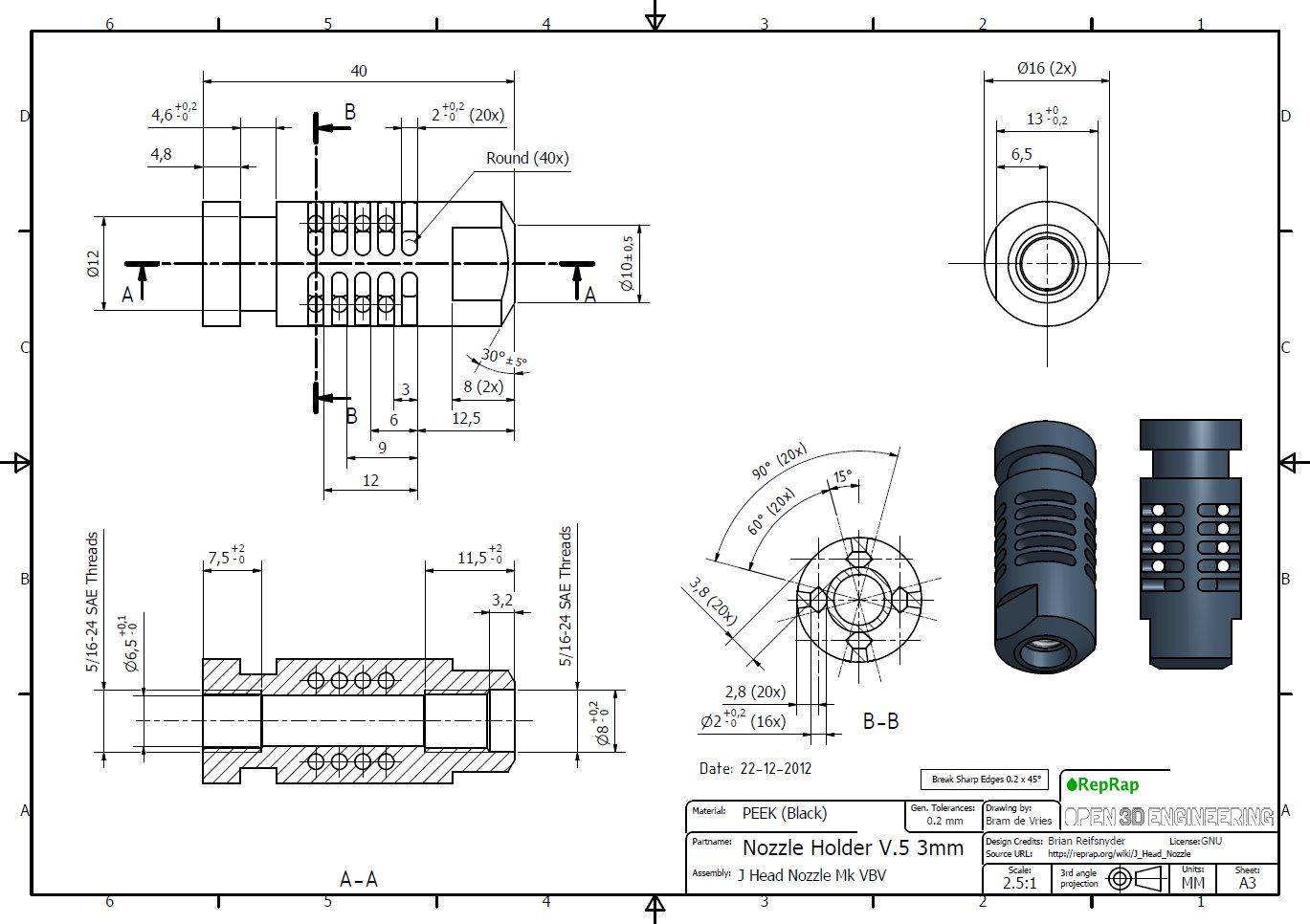 Eventor 3d Printer Redesign Manufacturinget