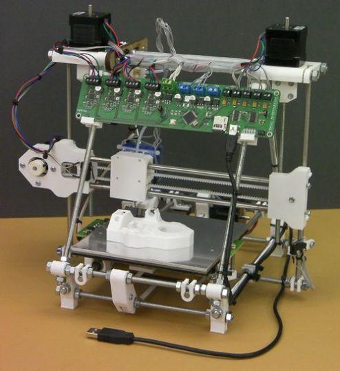 الطابعة ثلاثية الابعاد مفتوحة المصدر ربراب RepRap