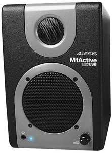 Alesis M1 Active 320 USB | Full-Range Studio Monitor Desktop Speakers
