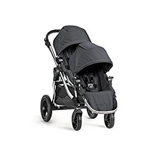Baby Jogger 2016 City Select Double Stroller with 2nd Seat, Onyx