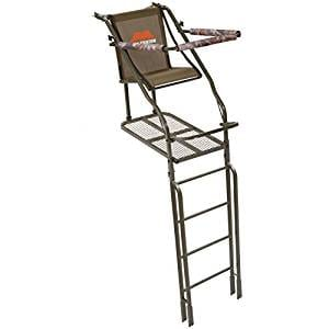 Millennium Treestands L-110-SL Single Ladder Stand with Folding Seat, 21'